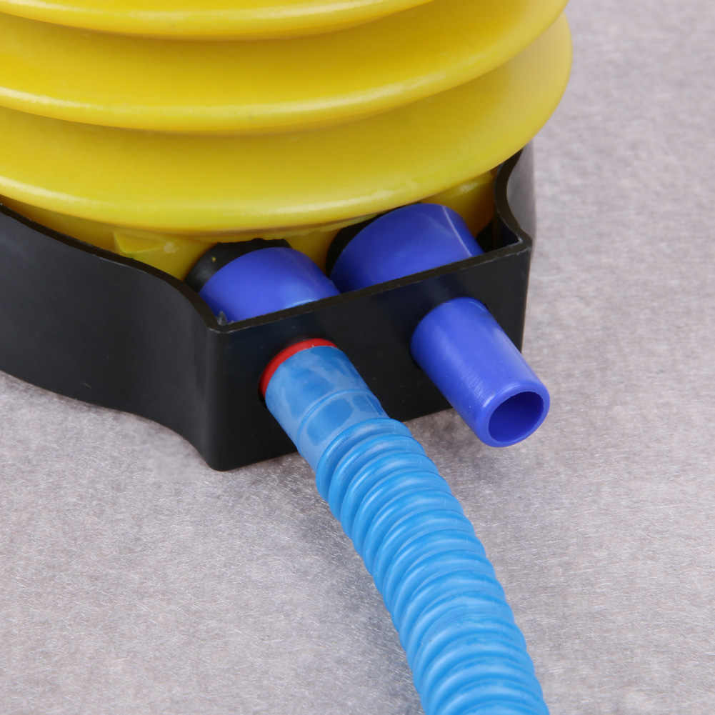 منفاخ بالونات موجة الكرة أنبوب قابل للنفخ مضخة صغيرة المحمولة أنبوب قابل للنفخ القدم أنبوب قابل للنفخ بالون الديكور LXX