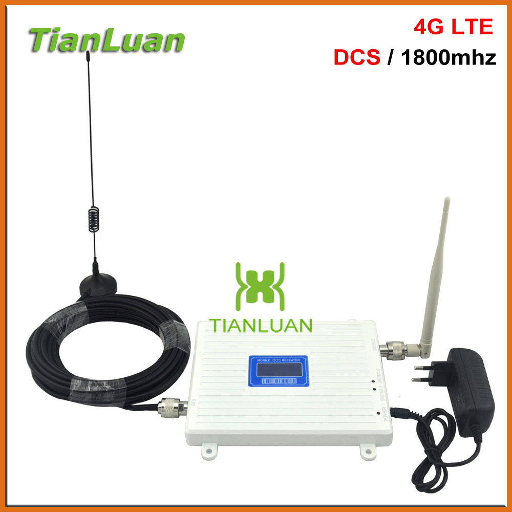 Big Power Lte 4g Network 1800mhz Signl Booster Signal Enhanced Device