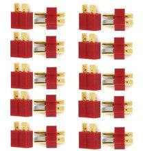 Nouveau 10 paires/ensembles T Plug mâle et femelle Deans connecteurs Style pour RC LiPo batterie pièces de rechange
