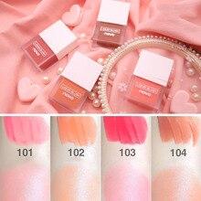 ZHENDUO 4 colors Make-up sweet ripple juice liquid palette blush  beautiful makeup naturally brighten complexion Rouge