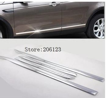 For Land Rover Discovery Sport 2015 2016 2017  ABS Chrome body side moldings side door decoration