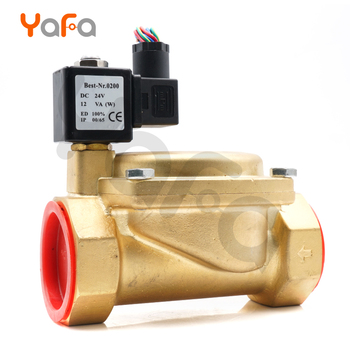 """AC 24V G3//4/"""" Brass Electric Solenoid Valve for Water Air Gas Normally Closed"""