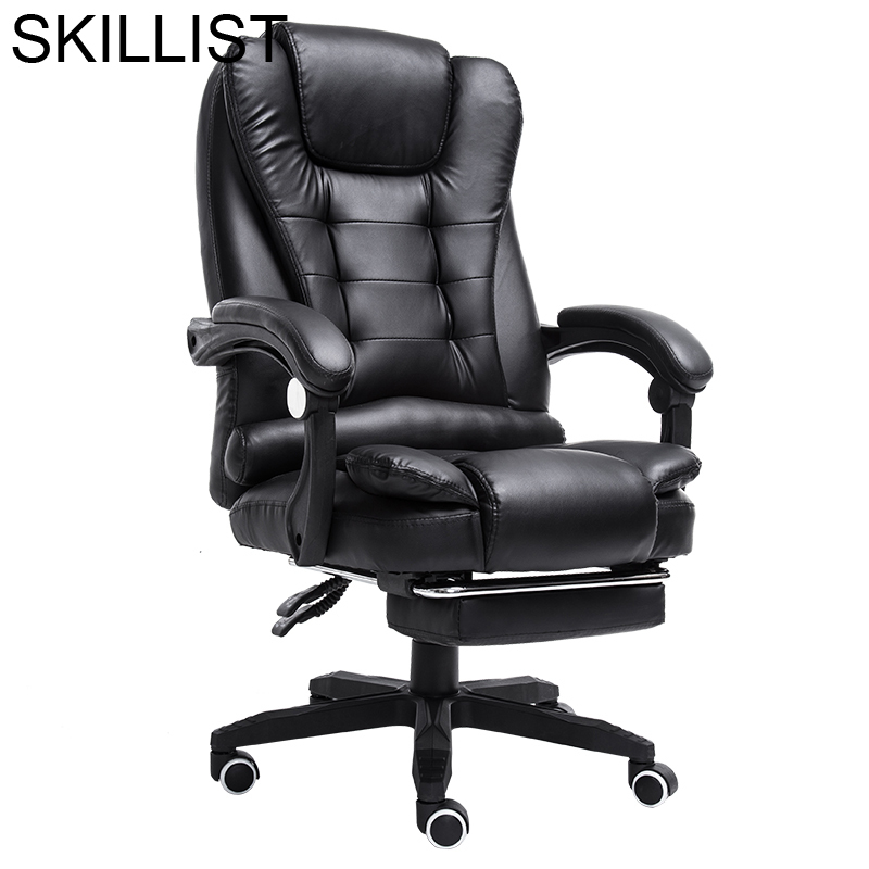 Boss T Shirt Sedia Oficina Y De Ordenador Taburete Armchair Stool Stoel Leather Poltrona Cadeira Silla Gaming Office Chair
