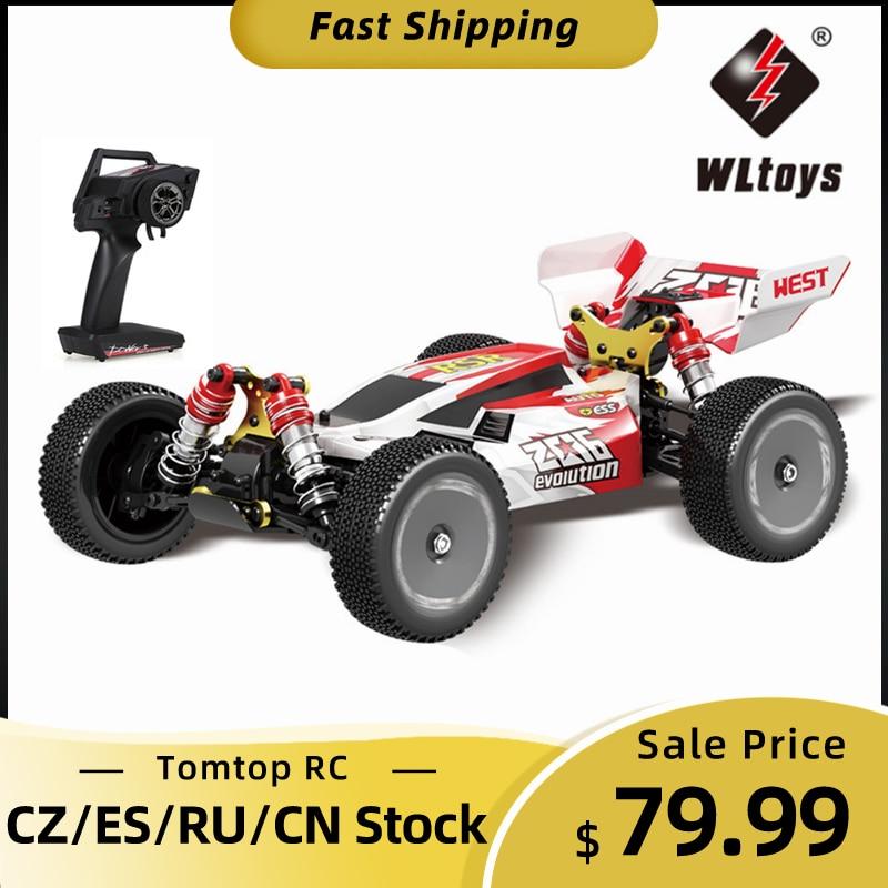 Wltoys XKS 144001 1/14 RC yarış arabası 550 Motor 60km/saat yüksek hızlı 2.4GHz 4WD RTR RC araba yarışı Off-road sürüklenme araba