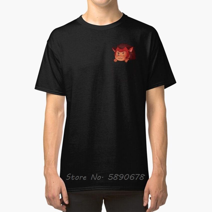 Catra In Your Pocket T - Shirt She Ra Spop Catra Netflix Dreamworks  Reboot Chibi Pocket Tshirt Funny Tees