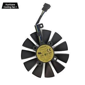 Image 4 - 新しい 87 ミリメートル T129215SU グラフィックスカード冷却ファン asus ストリックス GTX 1060 1070 1080 1070Ti 1080Ti 980Ti/R9 390X R9 390 RX 480 580