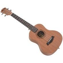 26 Inch Mahogany Wood 18 Fret Tenor Ukulele Acoustic Cutaway Guitar Mahogany Wood Ukelele Hawaii 4 String Guitarra kmise tenor ukulele mahogany ukelele uke 26 inch 18 frets 4 string hawaii guitar with gig bag