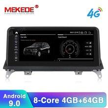 "MEKEDE HD 10,2"" Android 9,0 автомобильный dvd-плеер для BMW X5 E70 X6 E71 gps навигация поддержка CIC CCC iDrive ID7 рулевое колесо"
