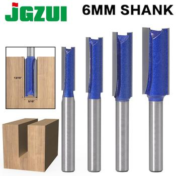 1PCS 6mm Shank Straight Woodworking Router Bit Set Carpenter Milling Cutter 1/4″,5/16″,3/8″,1/2″Cutting Diameter - discount item  50% OFF Machinery & Accessories