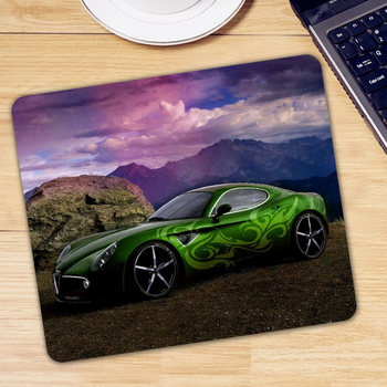 Cool Car Patterned Computer PC Desk Keyboard Mousepad Game Gamer Gaming Mouse Pad Soft CSGO Dota 2 Laptop Notebook Mice Mat image