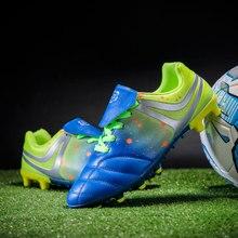 MWY Football Shoes Outdoor Athletic Sport Spike Soccer Cleats Chuteiras De Futsal Sneakers Training Plus Size