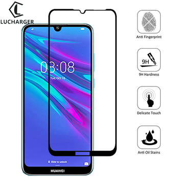 Case for Huawei y6 prime 2019 Tempered Glass Screen Protector Cover on y 6 pro 6y y62019 y6prime Protective Phone Coque Bag 6.09 image