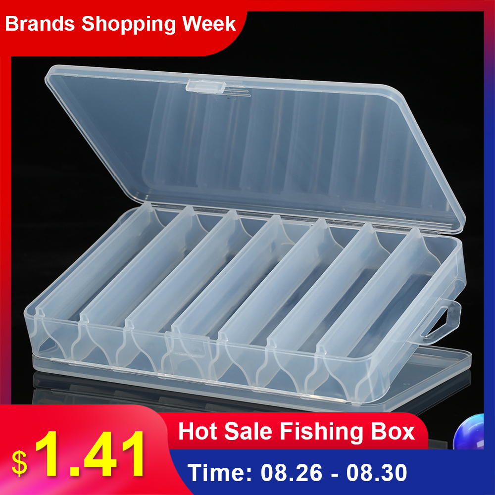 Storage-Case Hooks Lure Tackle-Sorting-Box Bait Compartments Fishing-Tool New 14