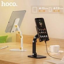 HOCO-Soporte de Metal para tableta de escritorio, extensor plegable, ajustable, para iPhone, iPad, Xiaomi
