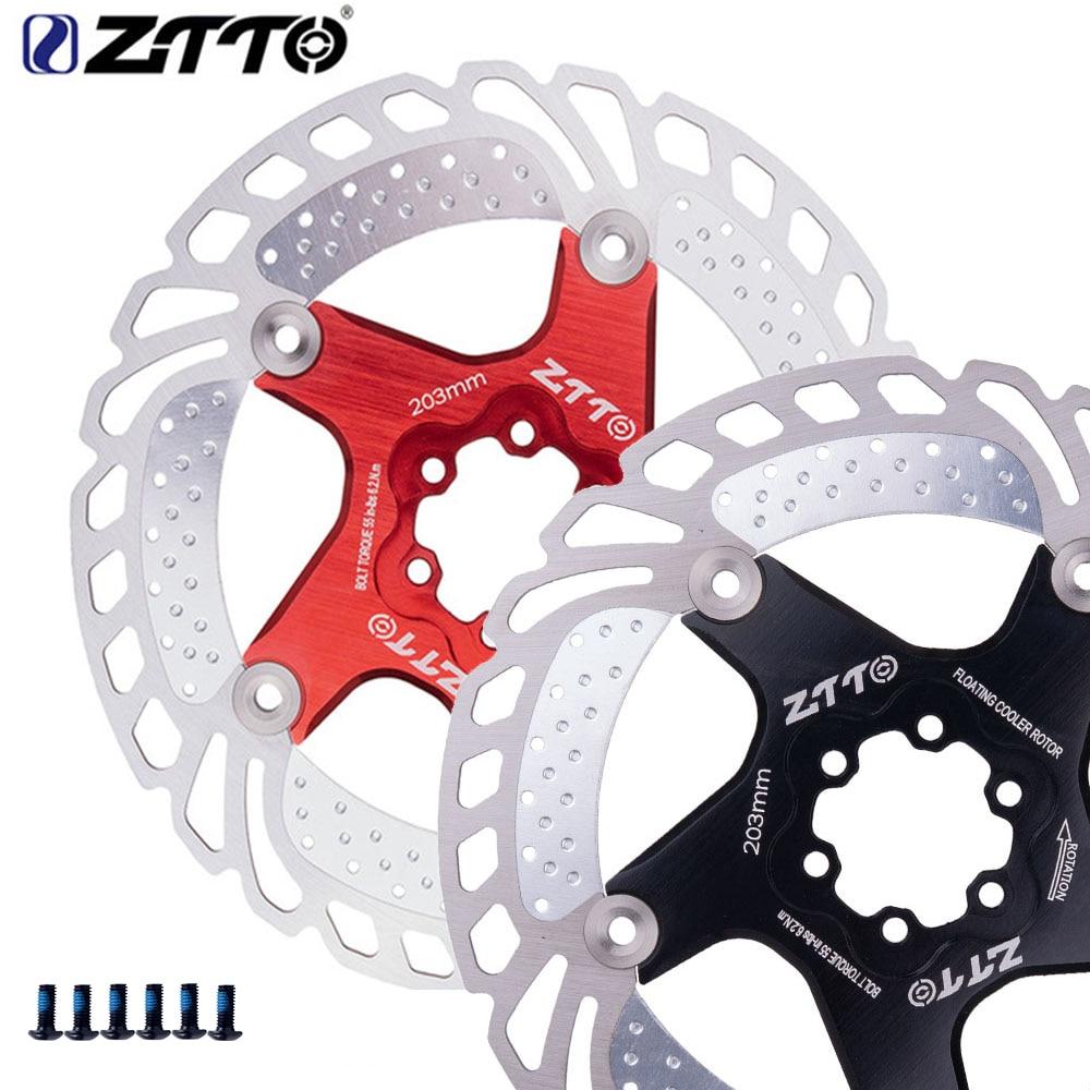 1Pc ZTTO Disc Rotor 203 180 160 140 120mm Mountain Bike Rotor Bicycle Brake Disc