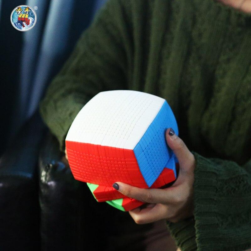 Оригинал высокого уровня Shengshou 17x17x17 Cubo 123 мм магический скоростной куб головоломка твист 17x17 Cubo Magico Обучающие Развивающие игрушки - 2
