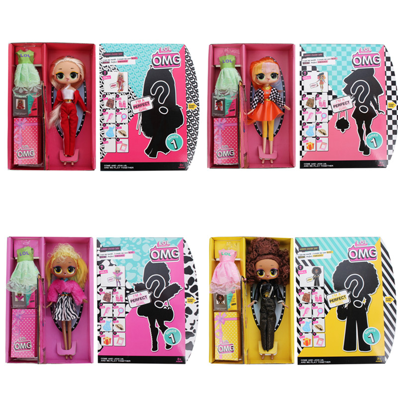 L.O.L.SURPRISE! Original Lol Dolls Surprise Beautiful Hair Doll DIY Manual Blind Box Fashion Model Doll Toy For Children Gift