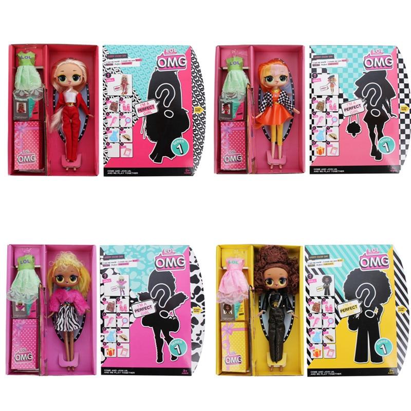 L.O.L.SURPRISE! Original Lol Dolls Surprise Beautiful Hair Doll DIY Manual Blind Box Fashion Model Doll Toy For Children Gift