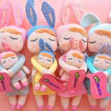 2 Piece Original Metoo Doll Plush Toys For Girls Baby Cute Rabbit Beautiful Angela Stuffed Animals For Kids