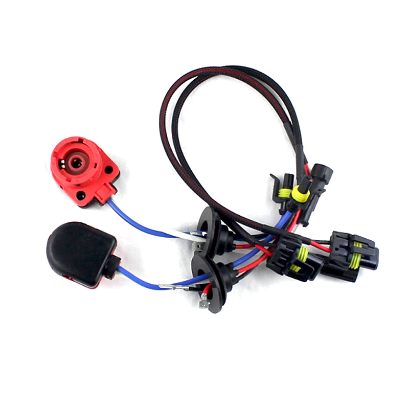 D2S D2R D2C D4S D4R D4 Turn AMP HID Xenon Connector Wiring Harness Bulbs Adapter Holder Plug Socket (2pcs) image