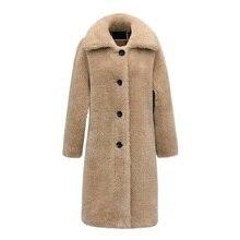 Новинка корейское винтажное шерстяное свободное клетчатое кашемировое зимнее повседневное уличное пальто элегантное женское длинное шерстяное пальто