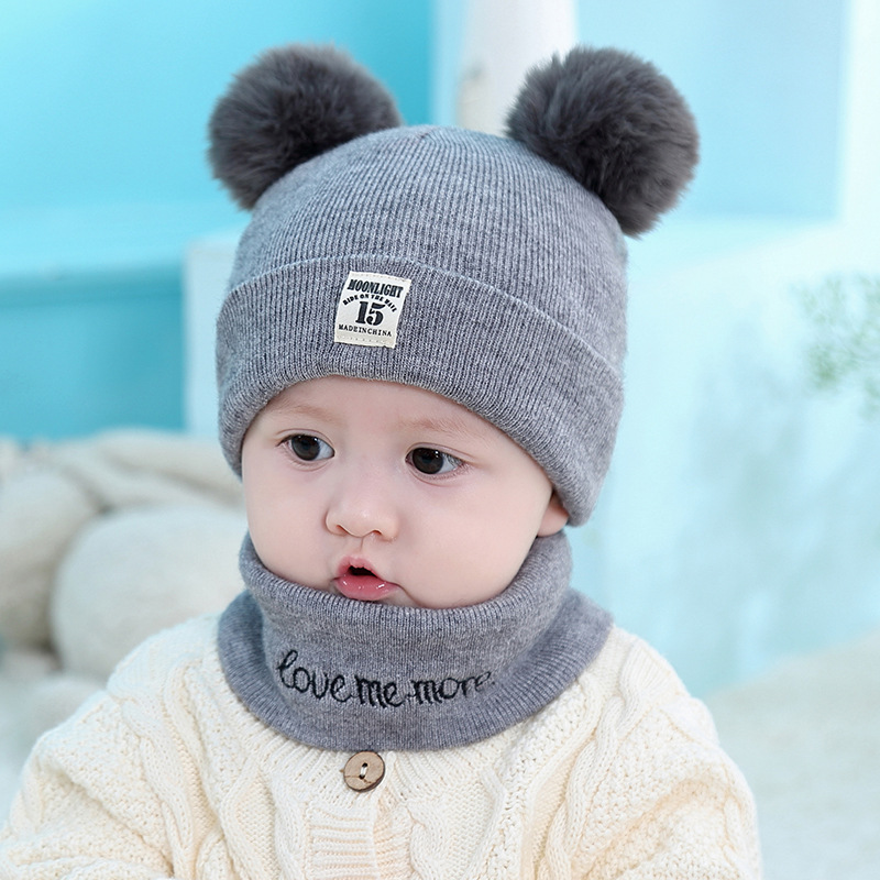Newest Children Baby Boy Girl Kids Infant Winter Pompom Ball Knit Hat Caps Casual Beanie Bonnet Drop Shipping