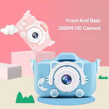 كاميرا رقمية عالية الدقة 1080 بكسل للأطفال ، كاميرا 20 ميجابكسل مع شاحن USB ، لعبة مدمجة مع غطاء حماية سيليكون مقاوم للصدمات