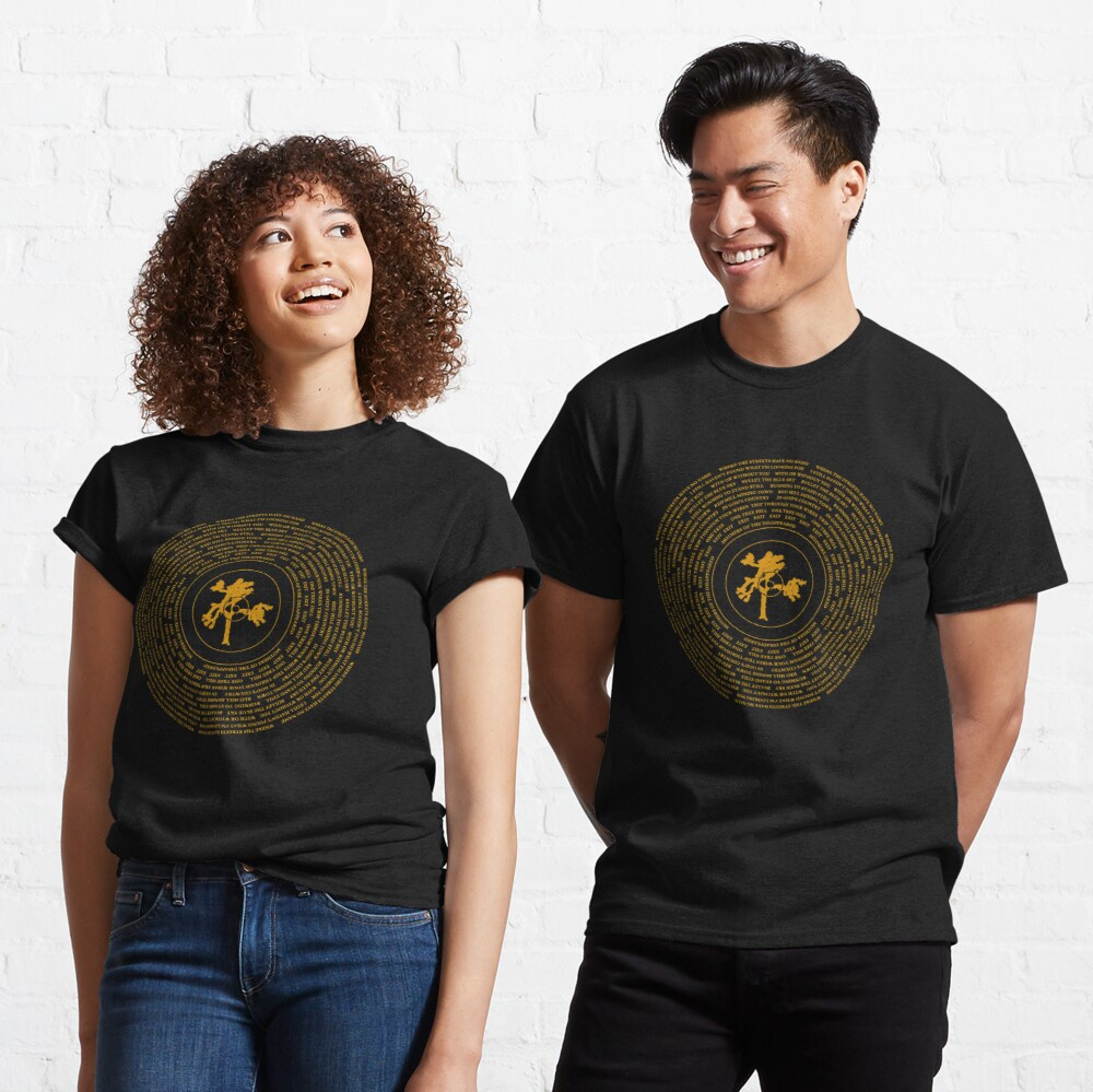 Классическая виниловая футболка Джошуа дерева