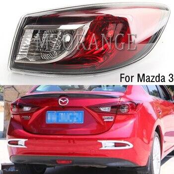 MZORANGE Outer Left&Right  Rear Tail Light For Mazda 3 BL  2009-2013 Tail Lamp Brake Lamp No Bulb Tail Light Assembly