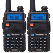 2Pcs Baofeng BF-UV5R Dual Band Two Way Radio Amateur Radio Portable Walkie Talkie Pofung UV-5R 5W VHF/UHF Radio UV 5r CB Radio