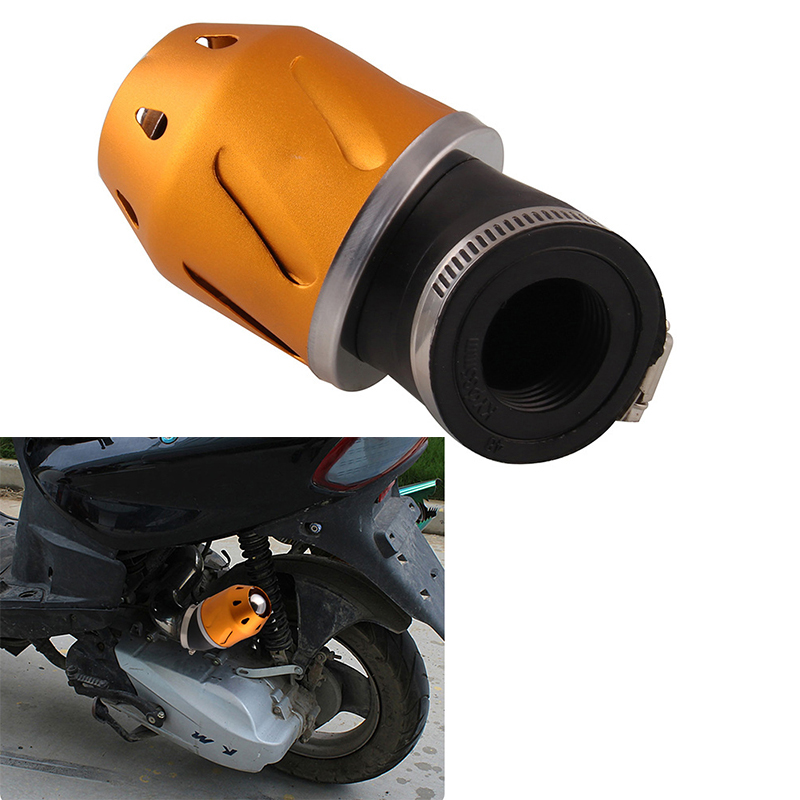 BeIilan 35mm 48mm Motorrad Modified Luftfilter Universal-Scooter Modification Teile Luftreiniger Motorteile