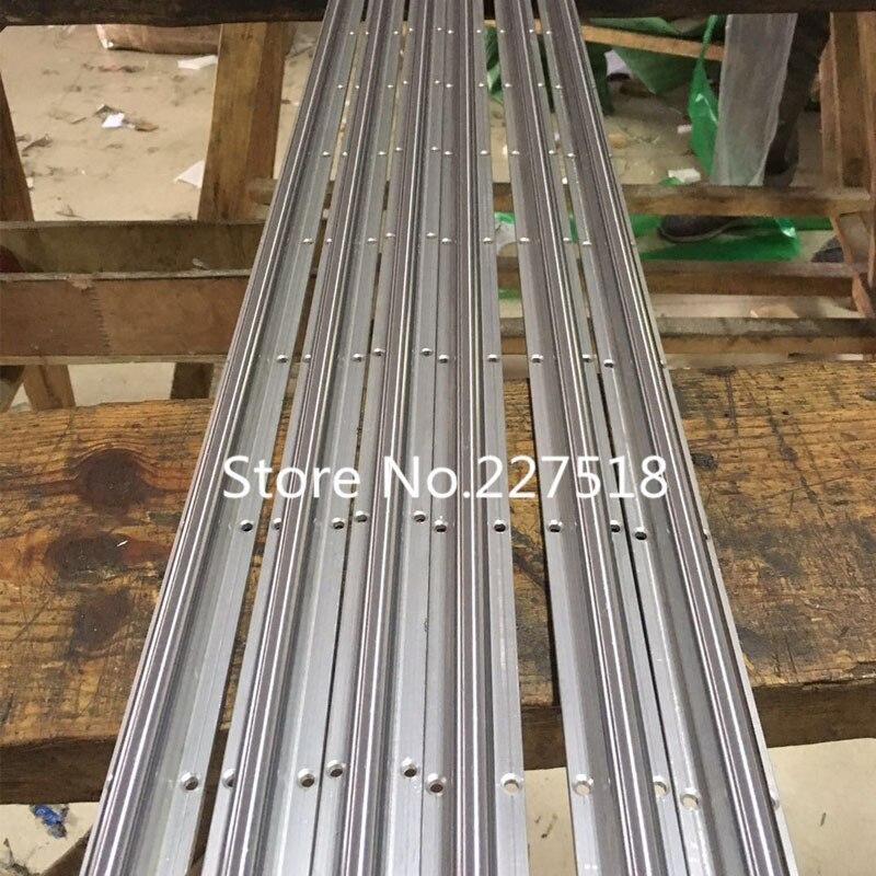 16 мм линейные рельсы SBR16 200 мм 2 шт. и 4 шт. SBR16UU линейные опорные блоки для деталей ЧПУ 16 мм линейная направляющая