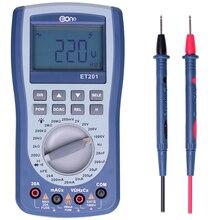 Eone ET201 осциллограф мультиметр-прицел Ручной цифровой мультиметр для хранения