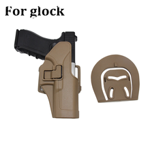Tactical Glock RH Belt Gun Holster Military Airsoft Hunting Right Hand Pistol Case For 17 18 19 23 32