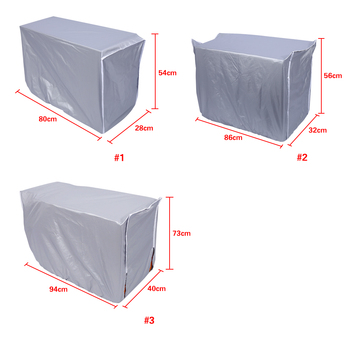3 Sizes Outdoor Air Conditioning Cover Air Conditioner Waterproof Cleaning Cover Washing Anti-Dust Anti-Snow Cleaning Cover kinugawa turbocharger 3 anti surge cover td06sl2 25g t25 flange 8cm 301 02001 193