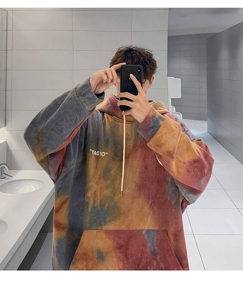 2020 New-Fashion Style Mens Fleece Hoodies Long Sleeves Casual Loose Streetwear Hot Sale Autumn Winter Male Funny Sweatshirts