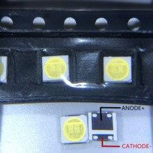 Diode Beads 100 шт. для LG Innotek светодиодный, новый и оригинальный светодиодный, 2 Вт, 6 в, 3535, холодный белый, ЖК-подсветка для ТВ-приложения