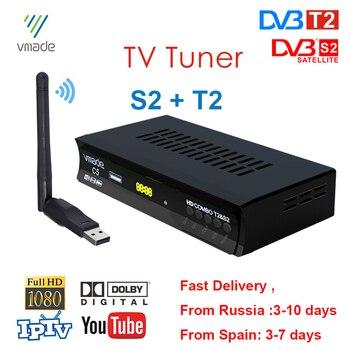 DVB S2 DVB T2 Satellite TV Receiver Digital TV Tunner Combo HD H.264 TV BOX Suport Europe IPTV CCAM Spain Russia Brazil USB WIFI телевизор oled lg 78 oled77c9pla черный ultra hd 100hz dvb t2 dvb c dvb s2 usb wifi smart tv rus
