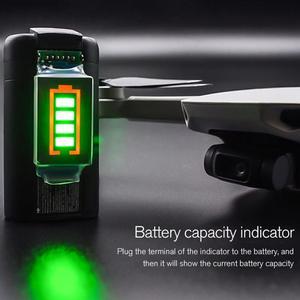 Image 1 - Indicatore di Capacità della batteria Per DJI Mavic Mini di Potenza Della Batteria con Display A LED per il DJI Mavic Mini Supporto 4 Livello di Potenza display