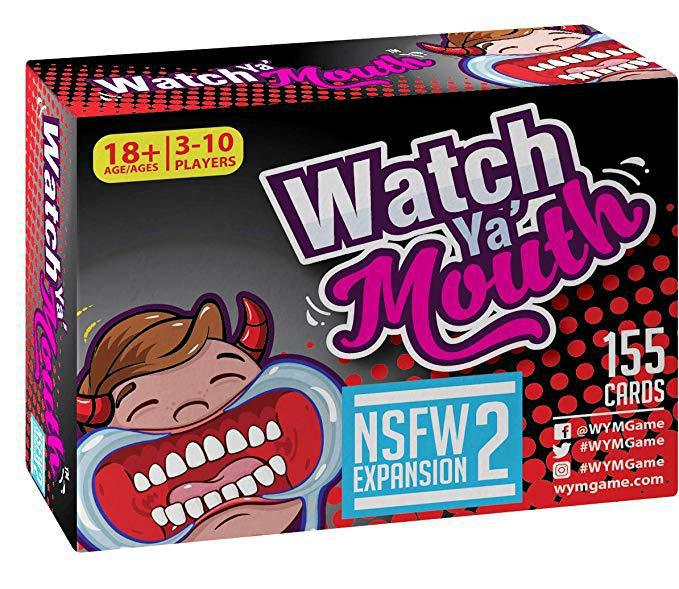 Hot Card Game Watch Ya Mouth Speak Out Braces Toys