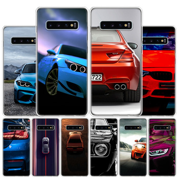 Blue white black For BMW Phone Case For Samsung Galaxy S10 S20 Ultra Note 10 9 8 S10E S9 S8 S7 Edge J4 J6 J8 Plus + Cover Coque image