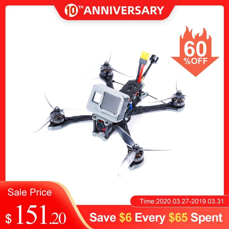 Oyuncaklar ve Hobi Ürünleri'ten RC Helikopterler'de IFlight Nazgul5 227mm 4S 2750KV / 6S 1700KV 5 inç F4 Caddx Ratel 45A ESC FPV yarış drone multicopter RC quadcopter BNF PNP title=