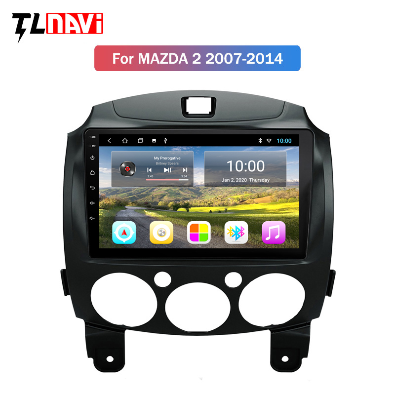 2G RAM Android 9.1 Car <font><b>Radio</b></font> For <font><b>MAZDA</b></font> <font><b>2</b></font> <font><b>demio</b></font> Third generation 2007-2014 GPS Navigation Multimedia Player image