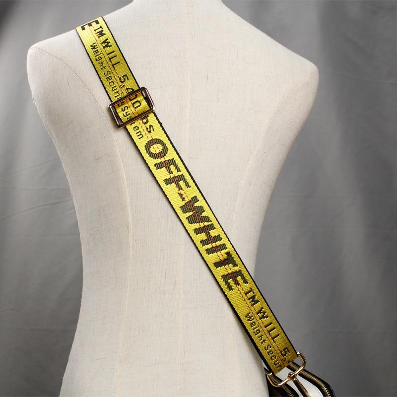 BAMADER Bag Accessories For Woman Bag Strap Replacement Fluorescence Adjustable Handbag Belts Nylon Wide Shoulder Bag Strap New