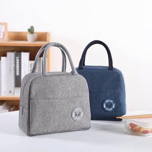 Cooler-Bags Tote Lunch-Box Fresh Oxford Zipper Waterproof Nylon Portable Women Convenient