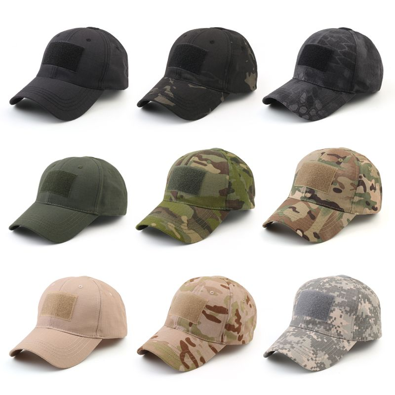 Outdoor Multicam Camouflage Adjustable Cap Mesh Tactical Military Army Airsoft Fishing Hunting Hiking Basketball Snapback Hat