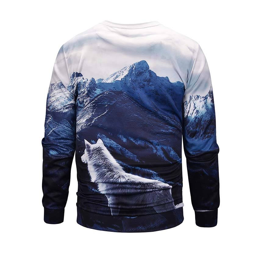 Wolf Mountain Men Sweatshirts 2019 Spring Autumn Fashion Hoodies Women Warm Fleece Coat Men Brand Hip Hop Hoodies Sweatshirts in Hoodies amp Sweatshirts from Men 39 s Clothing