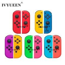 Ivyueen Voor Nintendo Switch Ns Joycon Vreugde Con Controller Behuizing Shell Case Voor Nintendoswitch Groen Paars Cover