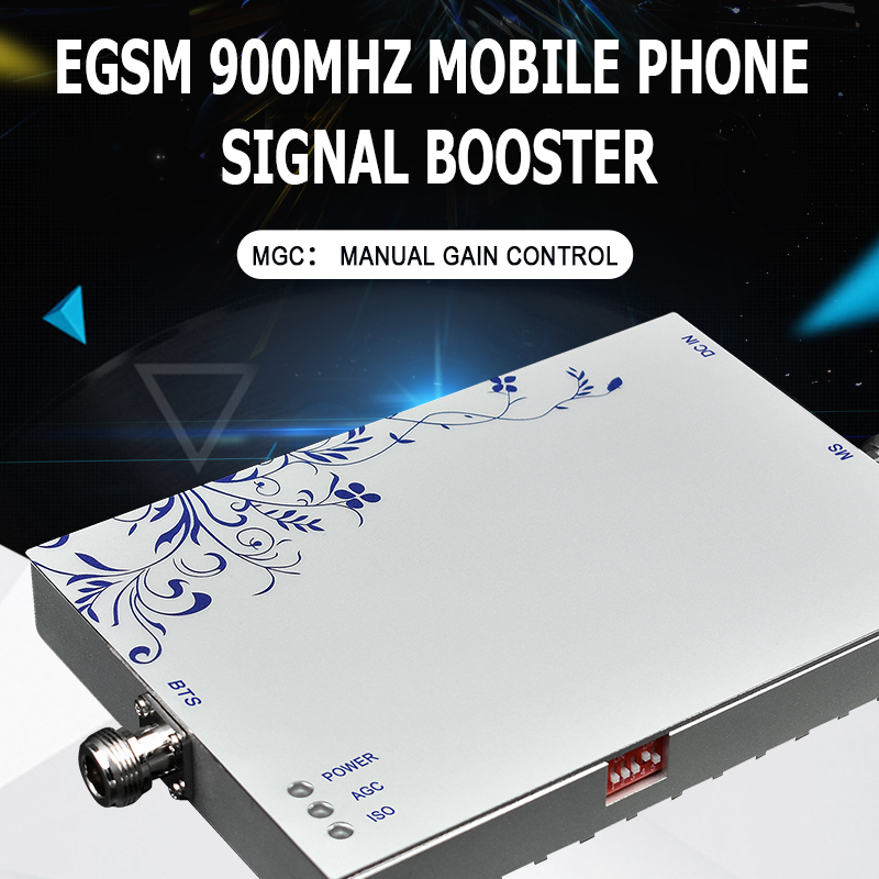 GSM Repeater EGSM 2G Cellular Signal Booster LCD Display Mini EGSM Repeater Signal 65dB GSM 900MHZ For Mobile Phones Amplifier -