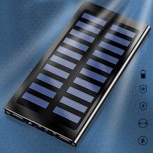 20000mAh портативное солнечное зарядное устройство ультра-тонкое Внешнее зарядное устройство для мобильного телефона Цифровая камера MP3
